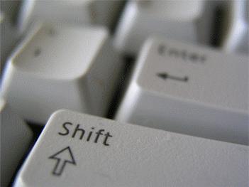 Shift Tu%C5%9Fu Klavye Rehberi